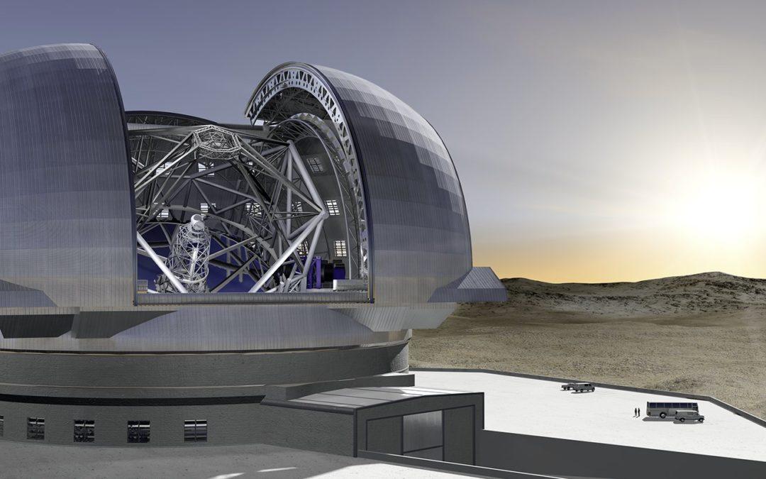 Mega Telescopes Call For Mega Know-how